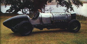 The 350hp Sunbeam as driven by KLG