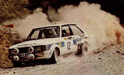 Henri Toivonen on the 1980 Welsh Rally