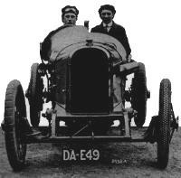 KLG in the 1914 TT Sunbeam