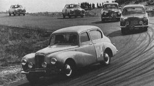 Sheila Van Damm in the 1954 Tulip Rally