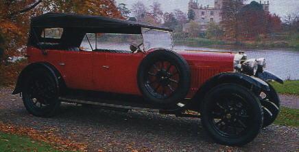 16.9 hp Tourer