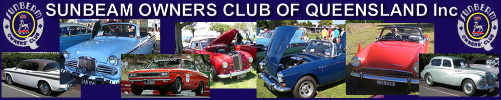 Sunbeam Owners' Club of Queensland Inc