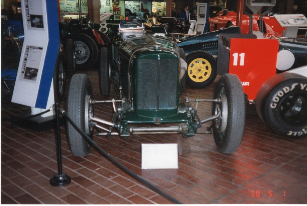 The 1924 GP Sunbeam which went on to be known as the Sunbeam Cub when driven by Kaye Don
