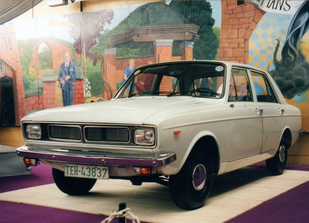 Paykan (an Iranian-built Hillman Hunter)