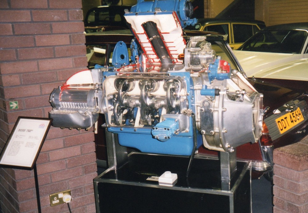 Commer/Karrier/Tilling-Stevens TS3 Diesel display engine