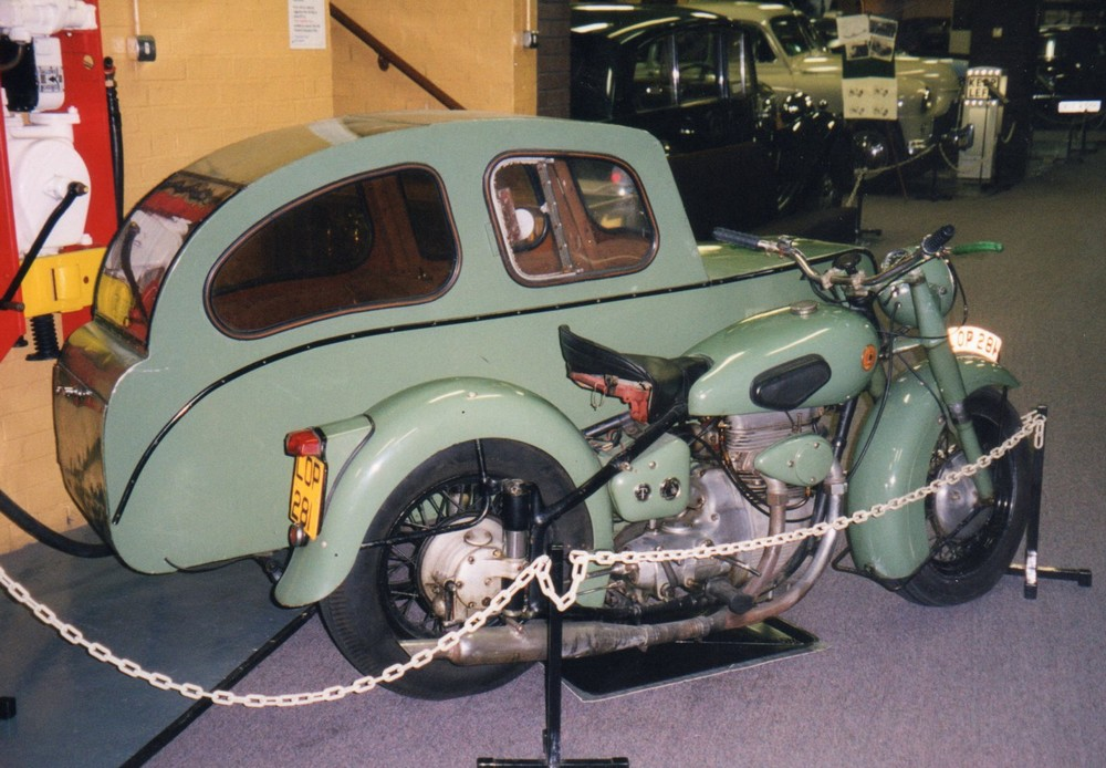 Sunbeam with sidecar outfit
