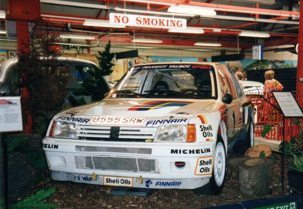 Peugeot 205 T16 works rally car