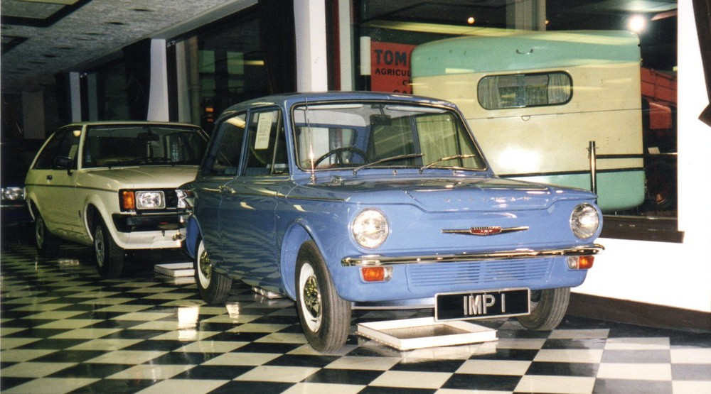 Hillman Imp - reputedly the first production Imp